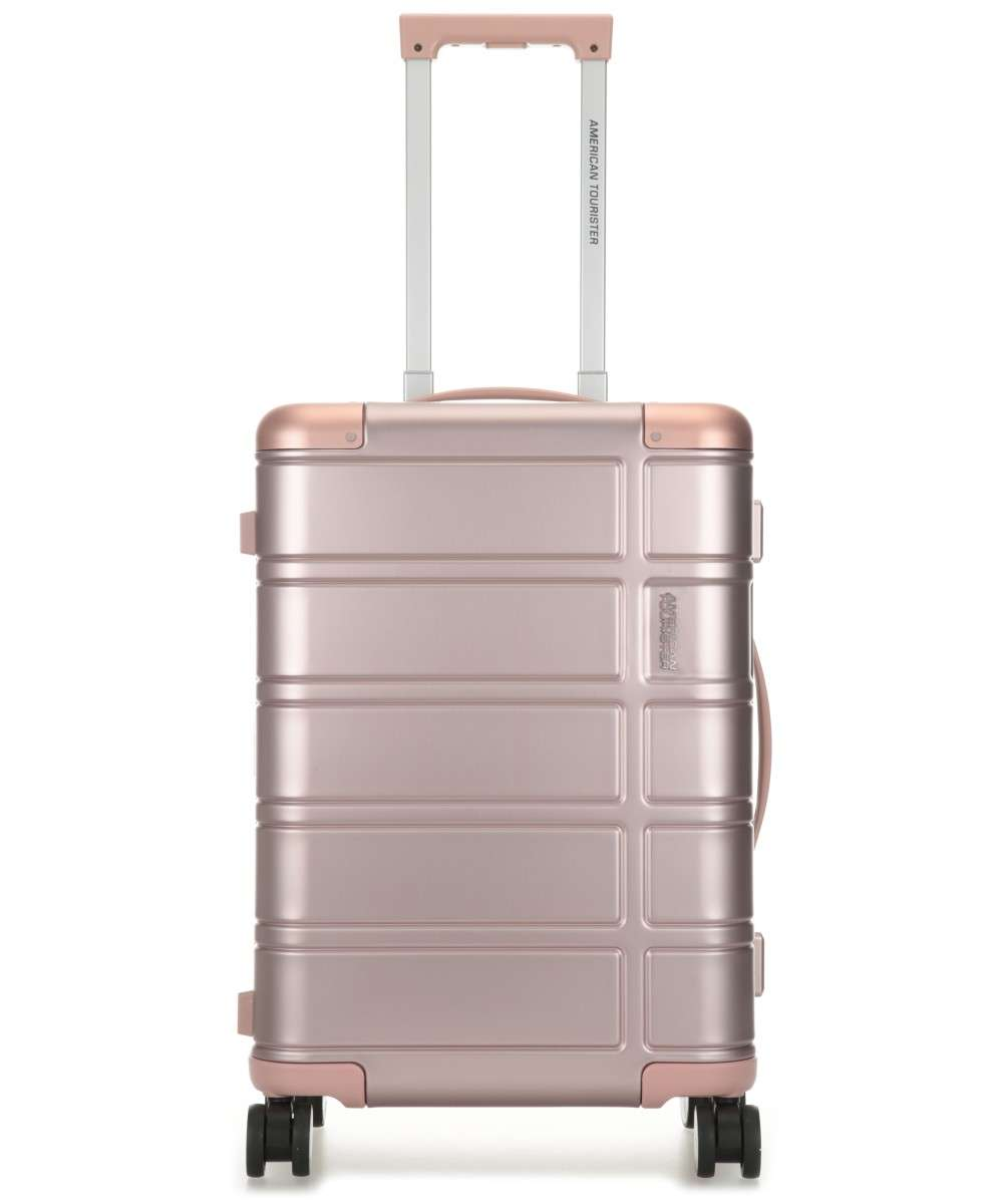 American Tourister Alumo 4-Rollen Trolley metallic pink 55 cm Preview