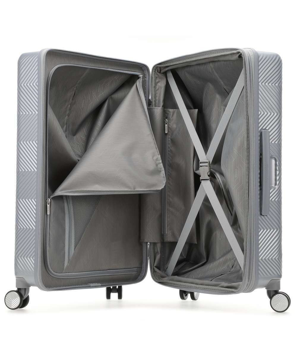 American Tourister Flylife 4-Rollen Trolley silber 67 cm-125244-6260-01 Preview