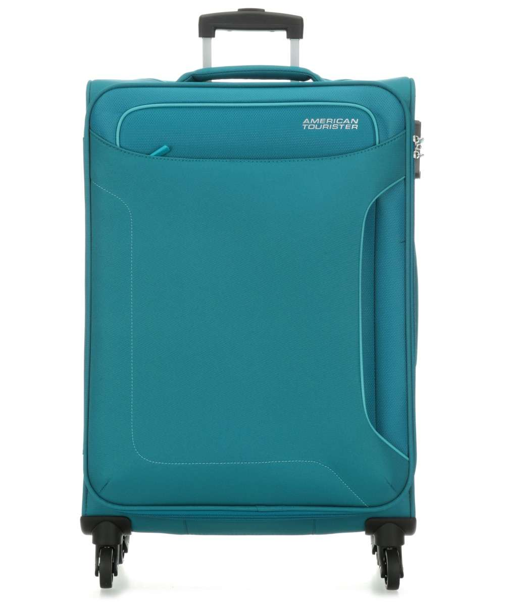 American Tourister Holiday Heat 4-Rollen Trolley petrol 79 cm Preview