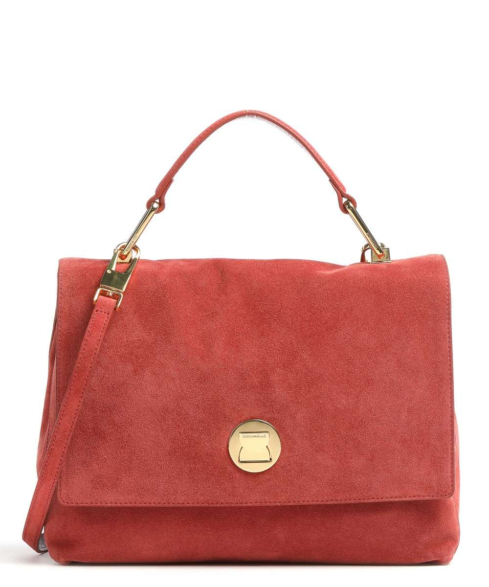 Coccinelle Liya Suede Handtasche rot Preview