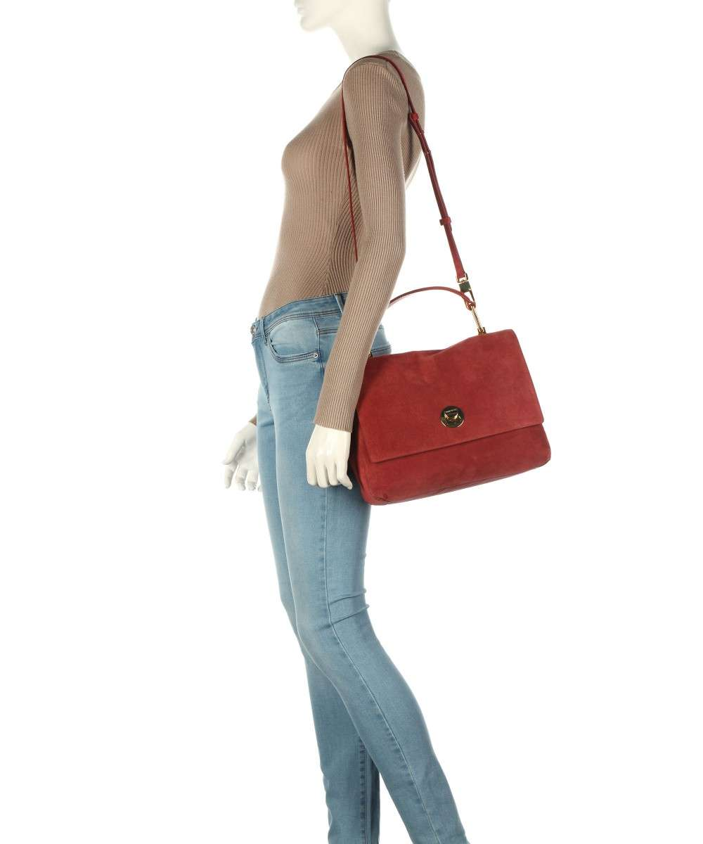 Coccinelle Liya Suede Handtasche rot-E1GD1180101-R46-01 Preview