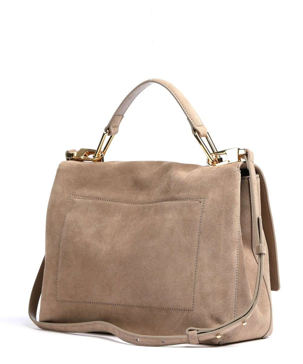 Coccinelle Liya Suede Handtasche taupe-E1GD1180101-N90-01 Preview