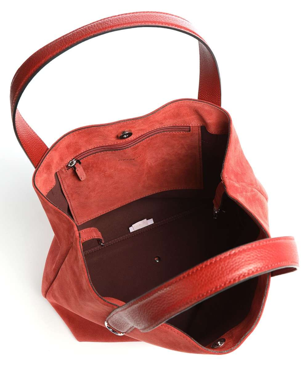 Coccinelle Mila Suede Handtasche rot-E1GE6110201-R46-01 Preview