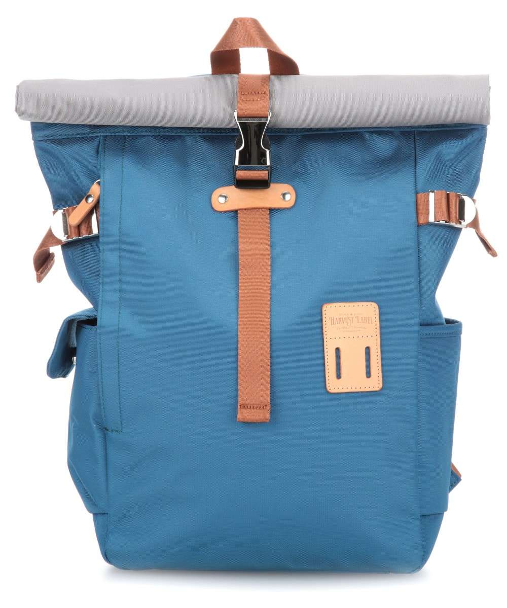 Harvest Label Norikura Rolltop Rucksack blau Preview