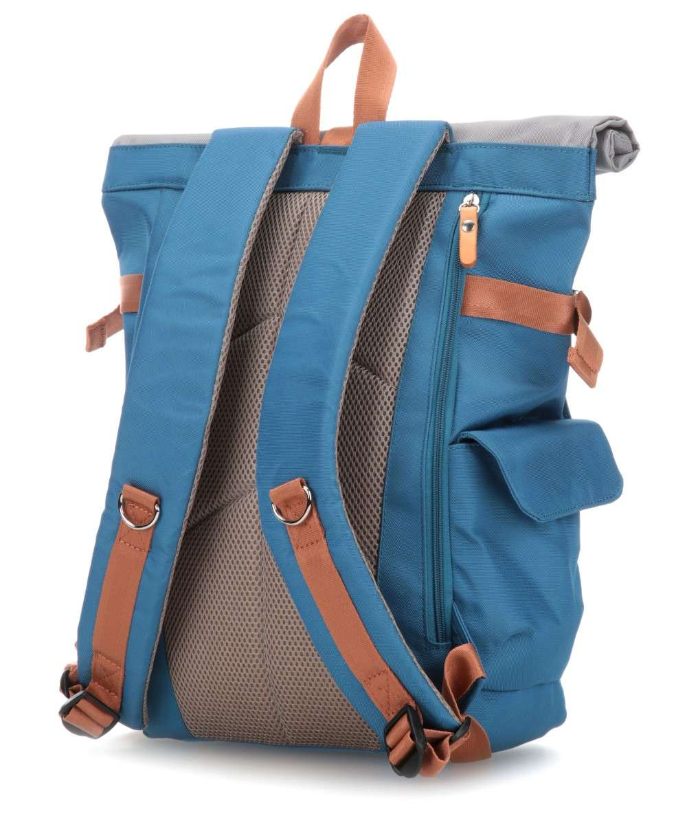 Harvest Label Norikura Rolltop Rucksack blau-HLO-0945-BLUE-01 Preview