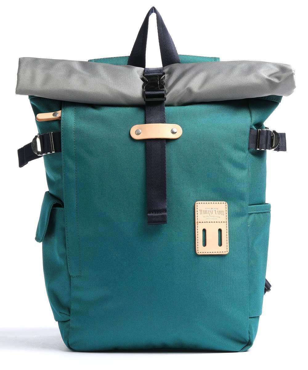 Harvest Label Norikura Rolltop Rucksack petrol Preview
