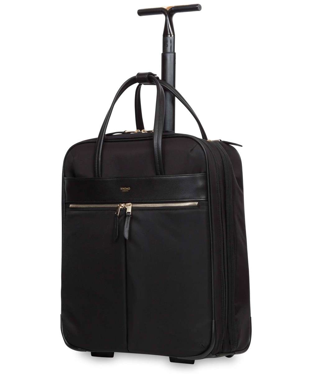 Knomo Mayfair Burlington 2-Rollen Trolley 15″ schwarz-119-801-BLK-01 Preview