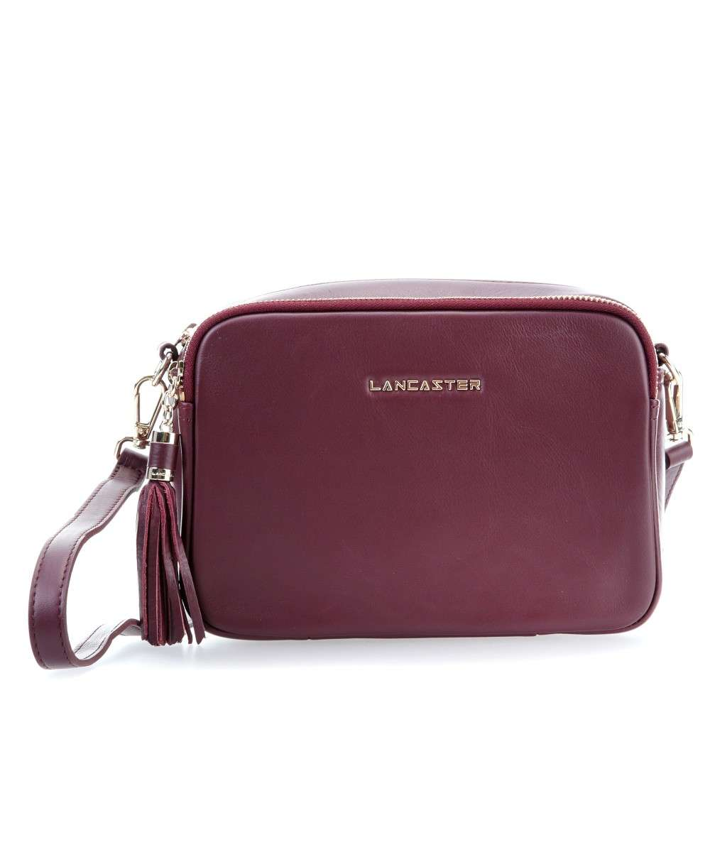 Lancaster Mademoiselle Ana Schultertasche bordeaux Preview