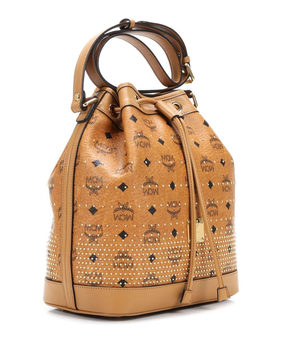 MCM Gold Visetos Beuteltasche cognac-MWD4SVI87CO001-01 Preview
