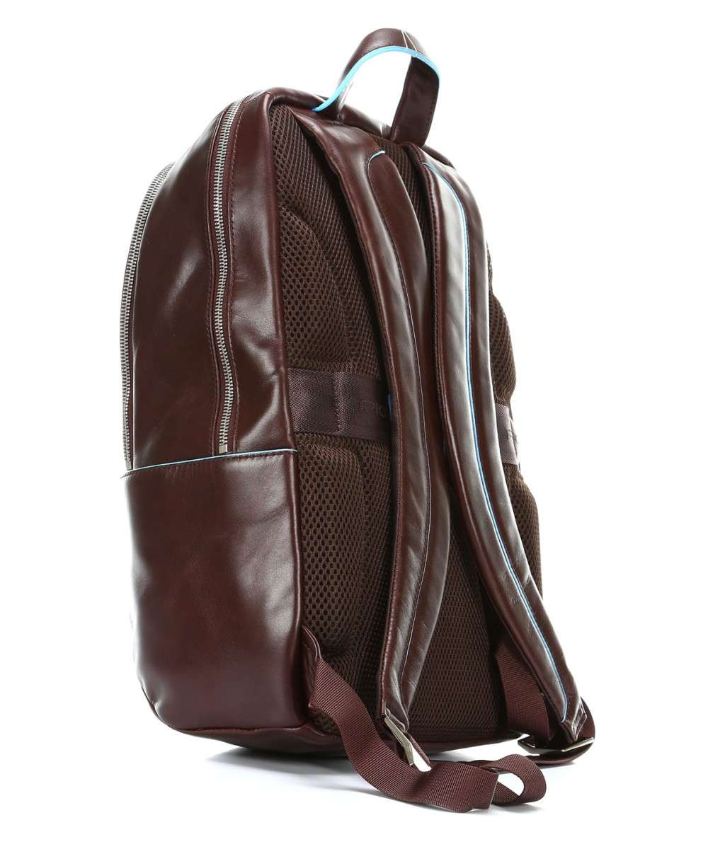 Piquadro Blue Square Laptop backpack 13″ brown-CA3214B2-MO-01 Preview