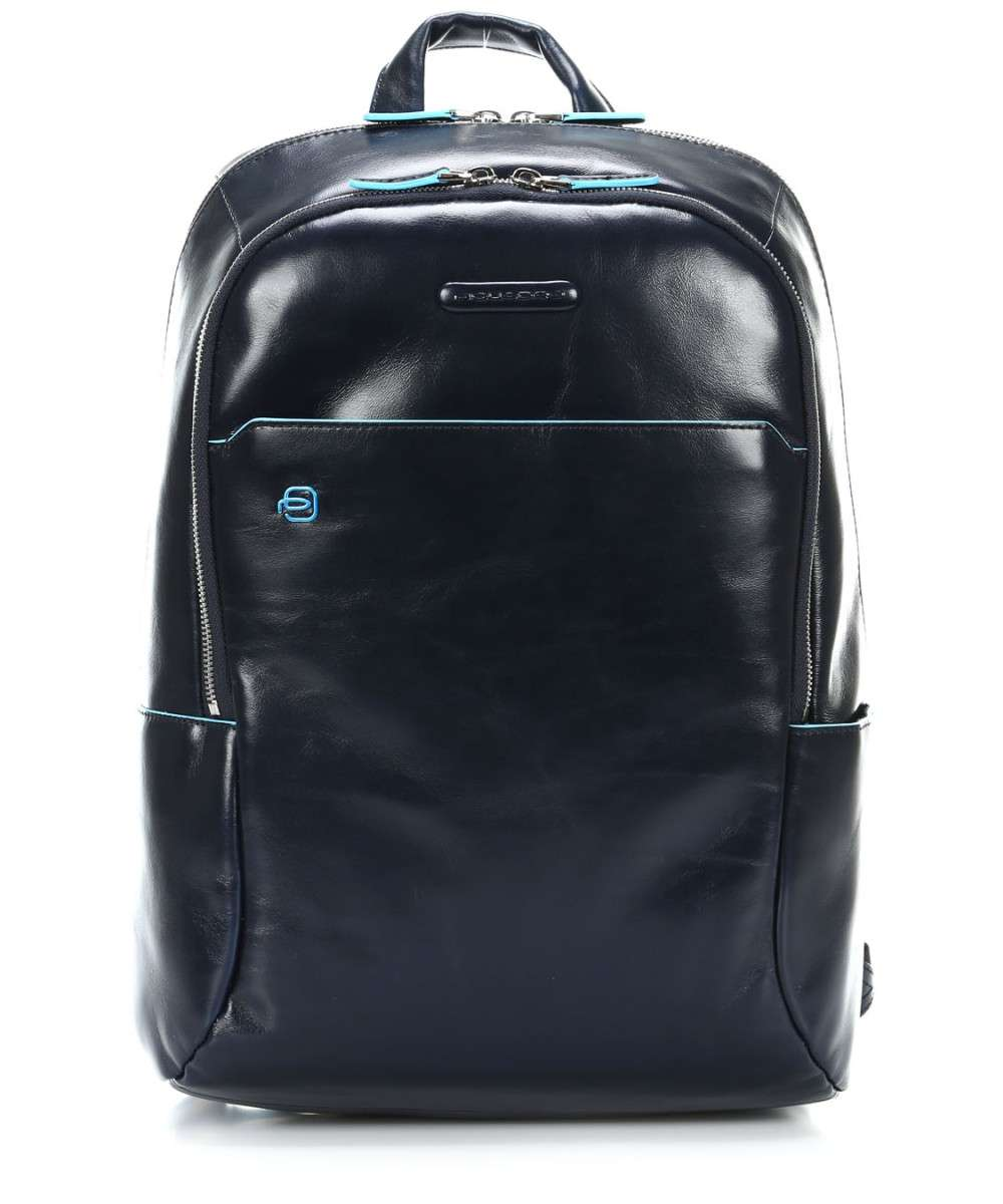 Piquadro Blue Square Laptop backpack 13″ dark blue Preview