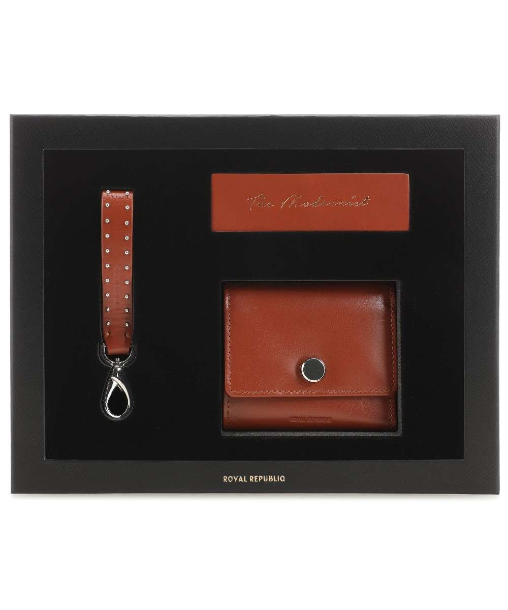 Royal RepubliQ The Modernist Gift Box Geldbörse cognac Preview