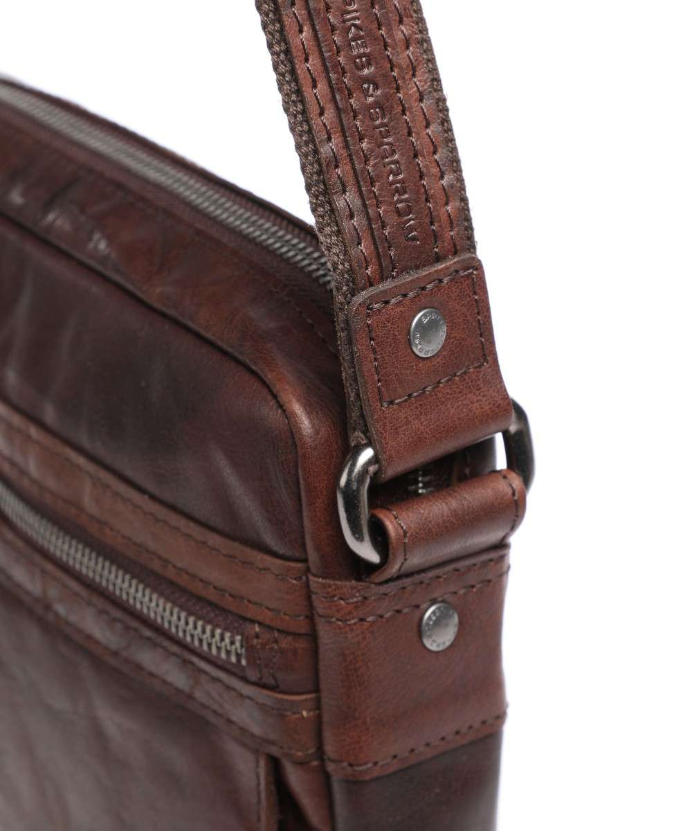 Spikes and Sparrow Bronco Crossbody bag dark brown-24251N01-01 Preview