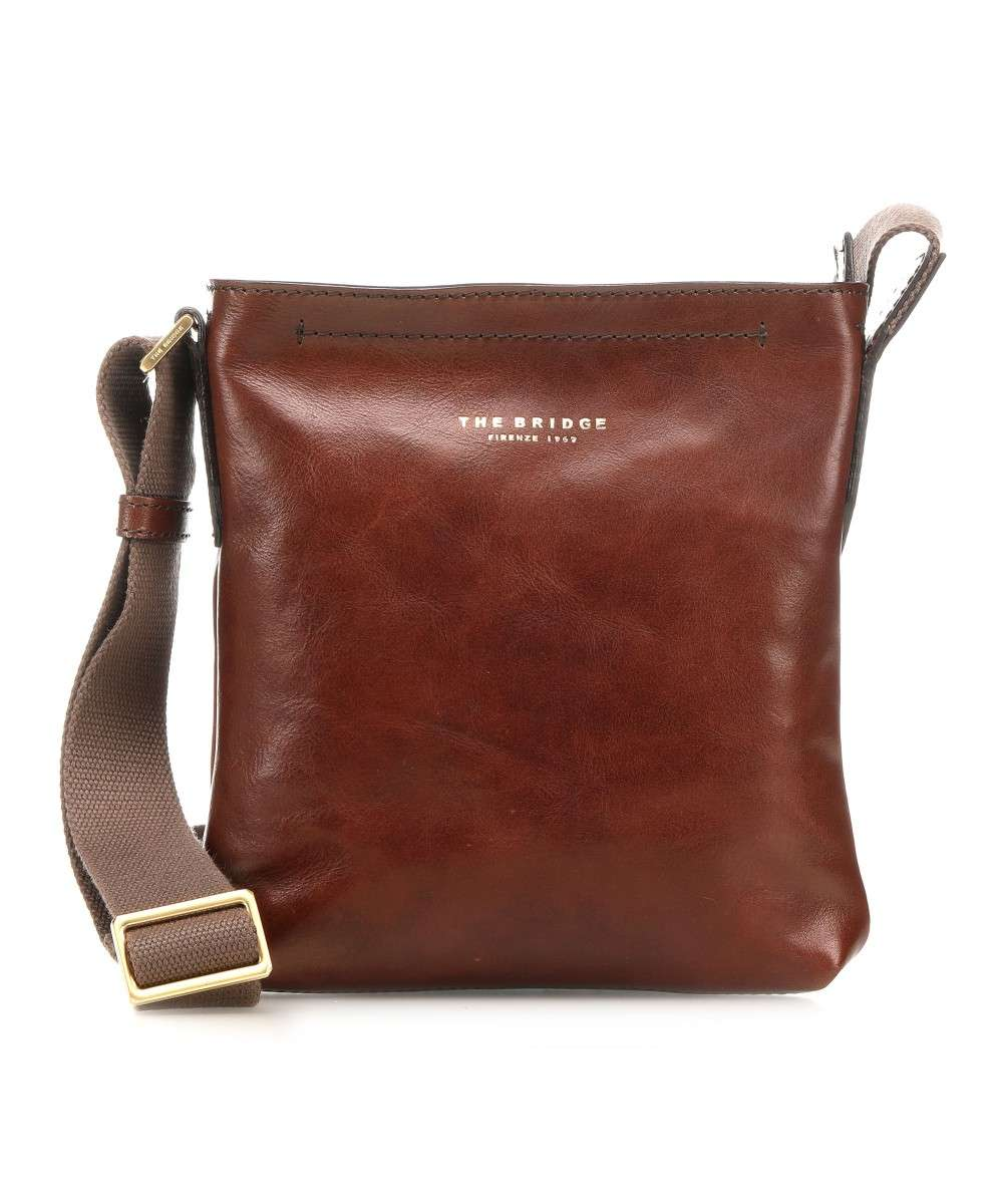 The Bridge Sfoderata Luxe Uomo Crossbody bag brown Preview