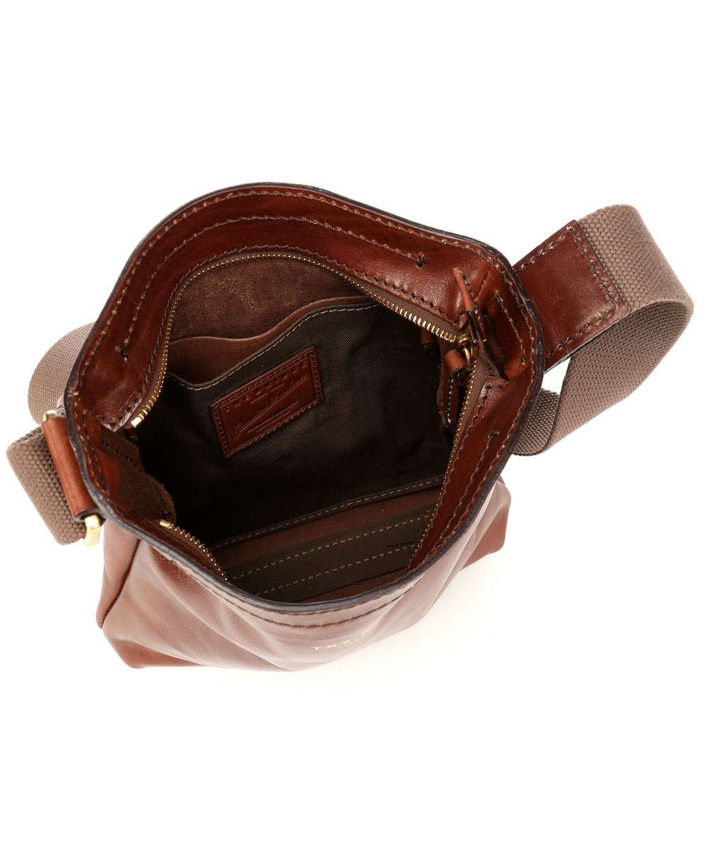 The Bridge Sfoderata Luxe Uomo Crossbody bag brown-054031-01-14-01 Preview