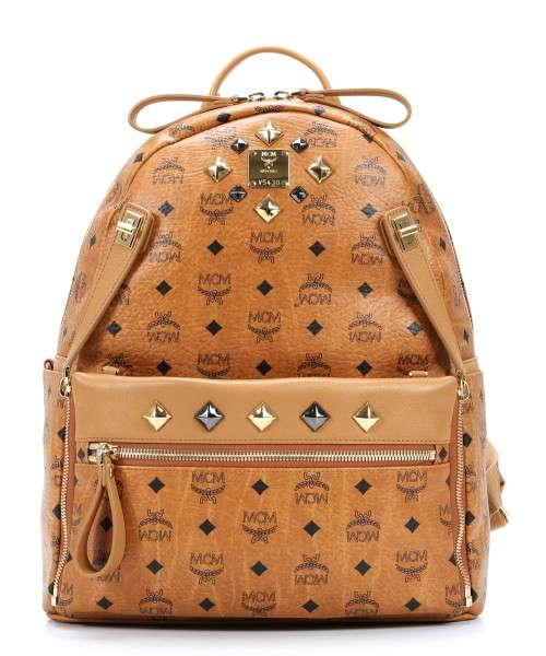 Mcm Backpack Synthetic Cognac Mmk4sve79co001 Designer Bags Wardow