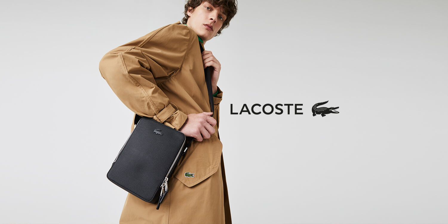 Lacoste bags and backpacks
